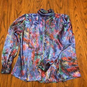 Vintage Tess Turtleneck Blouse Size 8